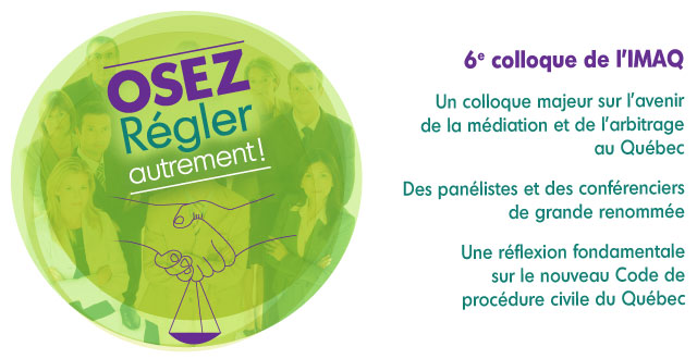 Colloque IMAQ 2015